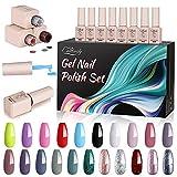 Creamify Esmaltes Semipermanentes de Uñas en Gel-21 Colores Esmaltes de...