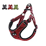 Suredoo No Pull Dog Harness Adjustable Breathable Reflective Lightweight Pet Vest Harness Front