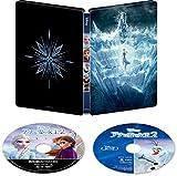 【Amazon.co.jp限定】アナと雪の女王2 4K UHD MovieNEX スチールブック [4K ULTRA HD+ブルーレイ+デジタルコピー+MovieNEXワールド] [Blu-ray]