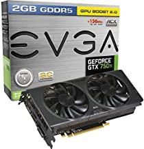 EVGA NVIDIA GeForce GTX 750 Ti Superclocked w/ ACX Cooling