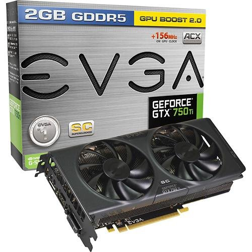 EVGA NVIDIA GeForce GTX 750 Ti Superclocked w/ ACX Cooling