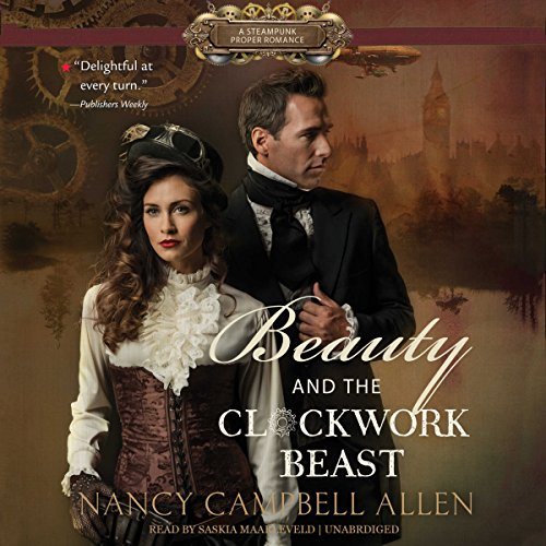 Beauty and the Clockwork Beast audiobook cover art