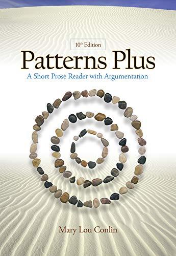 Patterns Plus: A Short Prose Reader with Argumentation