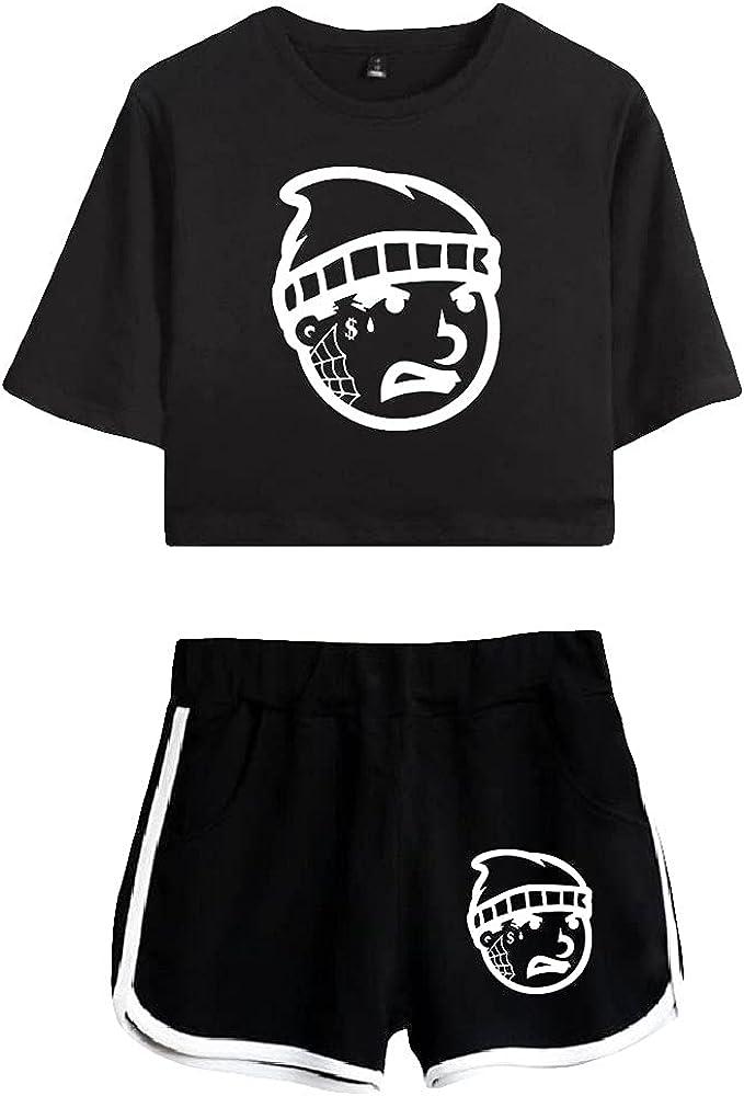 Tydres Gera MX 2 Piece Sets Casual Two Piece Suit Woman Girls Short & Tops Suit Singer Short Sleeve (BB-KB03583,XL)