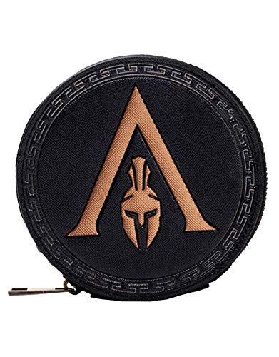 Assassins Creed Odyssey Coin Purse Greek Helmet Logo Nue offiziell