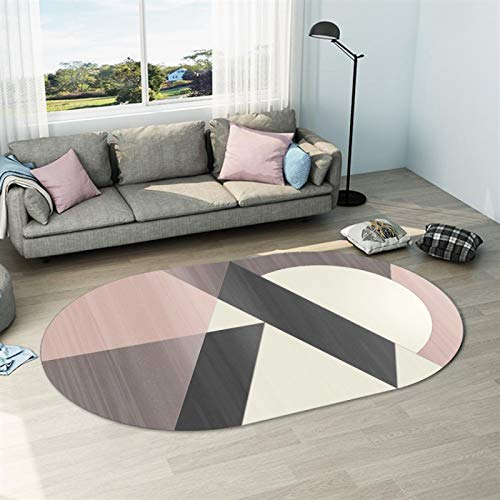 SSHHJ Geometrische Einfache Unregelmäßige rutschfeste Saugfähige Matte Im Europäischen Stil Couchtisch Schreibtisch Sofa Teppich Wohnzimmer Schlafzimmer Hotel Bed & Breakfast Party Teppich