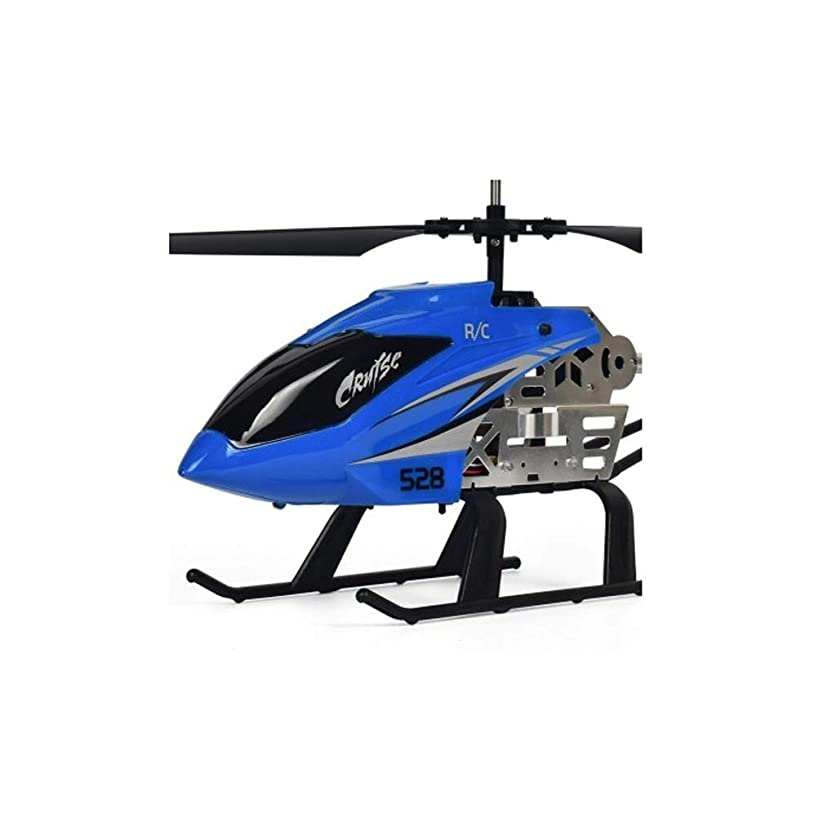 Remote Control Helicopter Toy, 2.4G Remote LED Light for Crash Resistance Helicopter RC Drone Toy Gift (Color : 2) uvko38794
