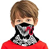 Ven-om Face 2 Kids Neck Gaiters Kids Summer Face Cover For Girls Bandanas Face Scarf Headbands