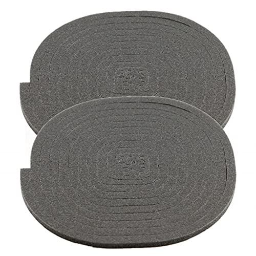 ALGOMAS© 2 Juntas universales de asiento para vitrocerámica o inducción,220cm, adhesiva y de fácil instalación