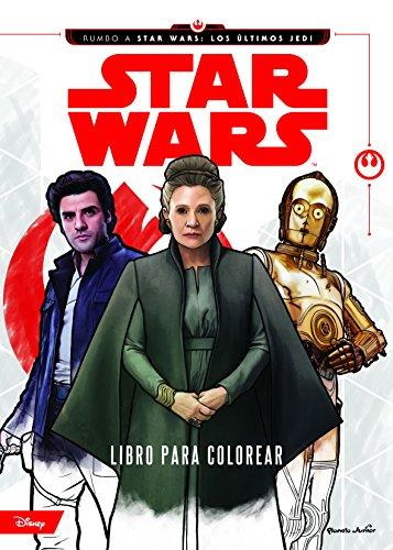 Star Wars. Rumbo a los últimos Jedi. Libro para colorear