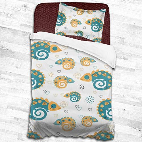 Duvet Cover 140 x 200 cm Herding DISNEY JUNGLE BOOK Bedding Set Reversible Motif Cotton//Renforc/é Pillow Case 70 x 90 cm