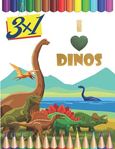 Dinosauri Libro da Colorare per Bambini 3-6 Anni: Unisci i Puntini, Enciclopedia Dinosauri, Album da Colorare e Disegno - Tutto in un Libro e Altro ... Bambino 3,4,5,6 Anni - Dinosauri Giocattolo