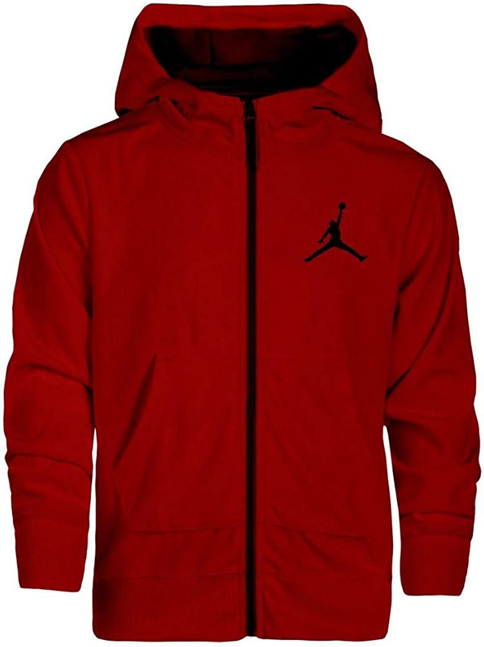 Nike Complete Free Free Shipping New Shipping Air Jordan Boys Velour Zipper X-Large Red Hoodie