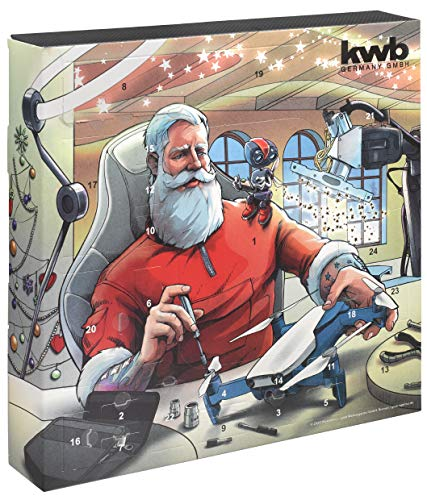 kwb 370210 Premium Adventskalender 2020...