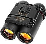 NICEME Binoculares de visión Nocturna Diurna 30 x 60 Zoom-Telescopio monocular de Senderismo-Telescopio al Aire Libre-Bolsa Plegable de Viaje para telescopio -para niños, Familia, Hombres