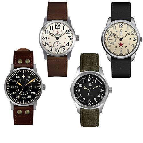 Relojes II Guerra Mundial - 4 Unidades de colección única...