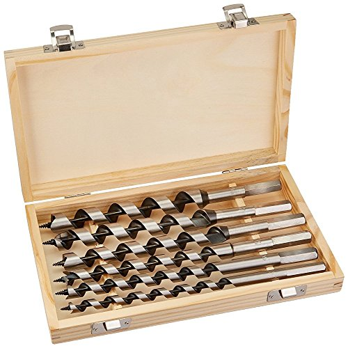 DWT-Germany 100063 6 pcs. set 230mm 6-20mm foreuse à bois foreuse à bois foreuse à bois set de foreuse à bois