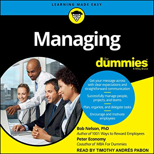 Managing for Dummies cover art