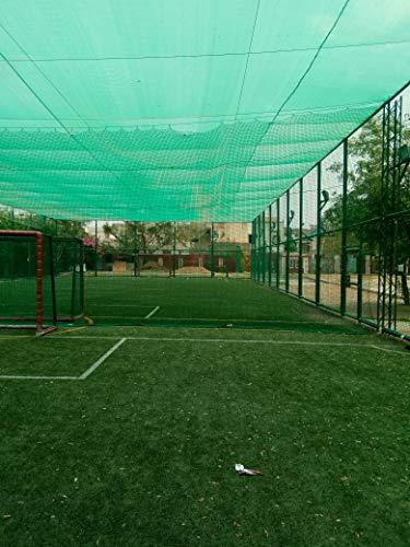 AGK Enterprises Green Shade Net for Garden/Balcony with Niwar 90-95% (10 X 6 FT.)