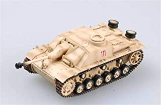 Easy Model WWII Stug III Ausf. G Rome 1944 1:72 Assault Gun Tank Finished