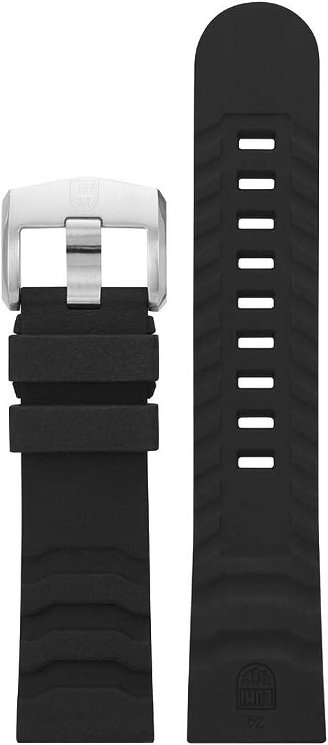 Max 44% OFF Luminox Men's Carbon online shopping SEAL Series Band Dark Rubber Grey Watch