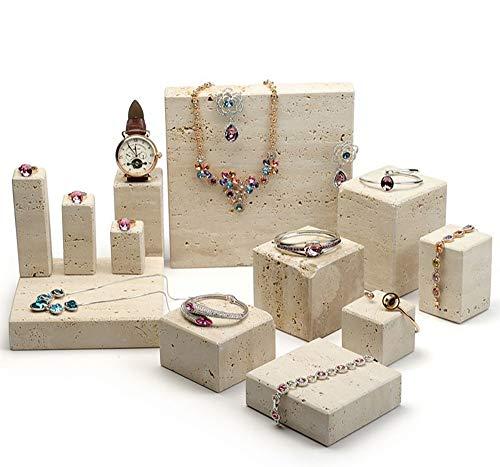ZTBXQ Combinazione Quadrata di Pietra degli Ornamenti dell'esposizione dei Gioielli del banco di Mostra dei Gioielli di Progettazione della mobilia