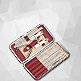 Manicura Uñas Set Pedicura Cortauñas Portátil Set Manicure Kit Home Nail Scissor Adult 9 Pcs