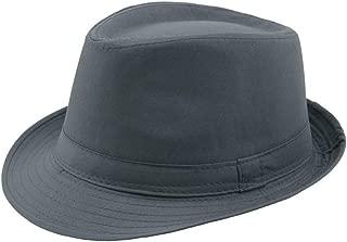 CHENDX High Quality Hat, Fashion Autumn Winter Men's Women's Hat Retro Jazz Hat Elegant Fashion British Wild Wool Woolen Warm Hat Size 58CM (Color : Gray, Size : 56-58CM)