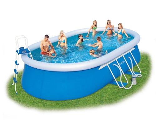 Bestway piscina Oval Azul azul Talla:20 Ft