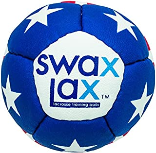 SWAX LAX Lacrosse Training Ball - Same Size and Weight as Regulation Lacrosse Ball but Soft - No Rebounds, Less Bounce Practice Ball