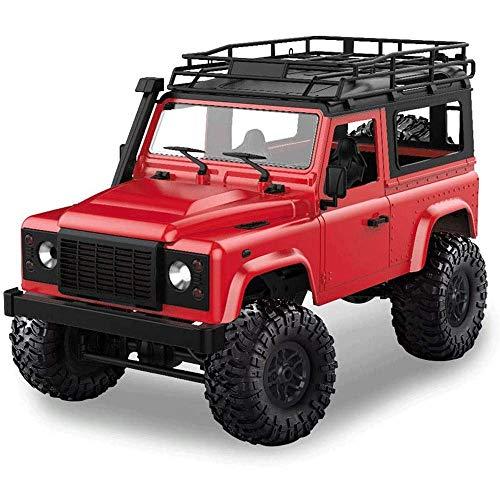 WANGCH 1:12 Modelo de coche de simulación Adecuado para niños Escalada en roca de alta velocidad Control remoto Vehículo todoterreno Deriva recargable Vehículo todoterreno Coche de juguete eléctrico c