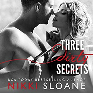Three Dirty Secrets audiobook cover art