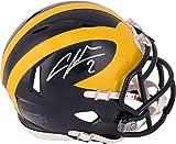 Charles Woodson Michigan Wolverines Autographed Riddell Mini Helmet - Autographed College Mini Helmets