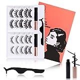 Best Lash Glues - Misstian Magnetic Eyelashes and Eyeliner Kit Reusable 3D&5D Review