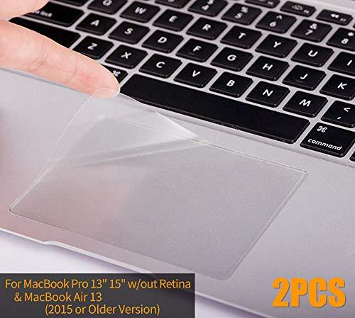 CaseBuy MacBook Air 13 Skin, Clear Matte Anti-Scratch Trackpad Protector Cover Skin for MacBook Air 13.3 A1466 A1369 (2010-2017 Release)