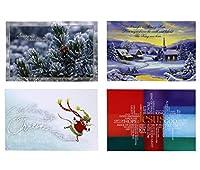 Christianコレクションクリスマスカード–244スタイルの各–96合計カード