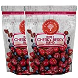 Cherry Bay Orchards - Dried Mixed Fruit Blend (Cherries, Blueberries, Cranberries) - Two 6oz Bags -...