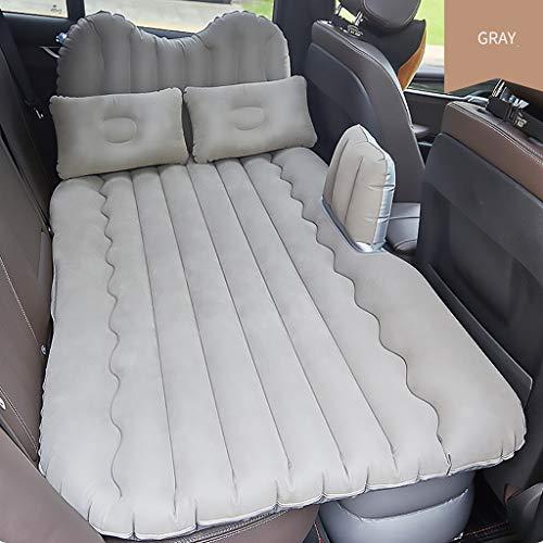 Colchón de Aire para automóvil, Cama de Aire con 2 Almohadas, Asiento Trasero de colchón Inflable para Viaje en automóvil, Almohadillas para colchón de colchón para Dormir para Auto SUV