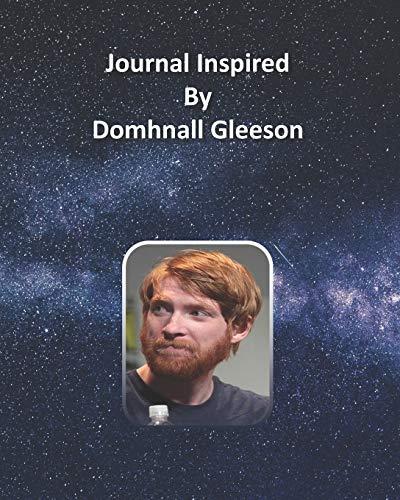 Journal Inspired by Domhnall Gleeson