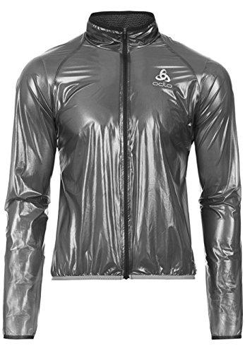 Odlo Herren Funktionsjacke Radsport Jacket Hardshell Mud Jacken, Black, XL