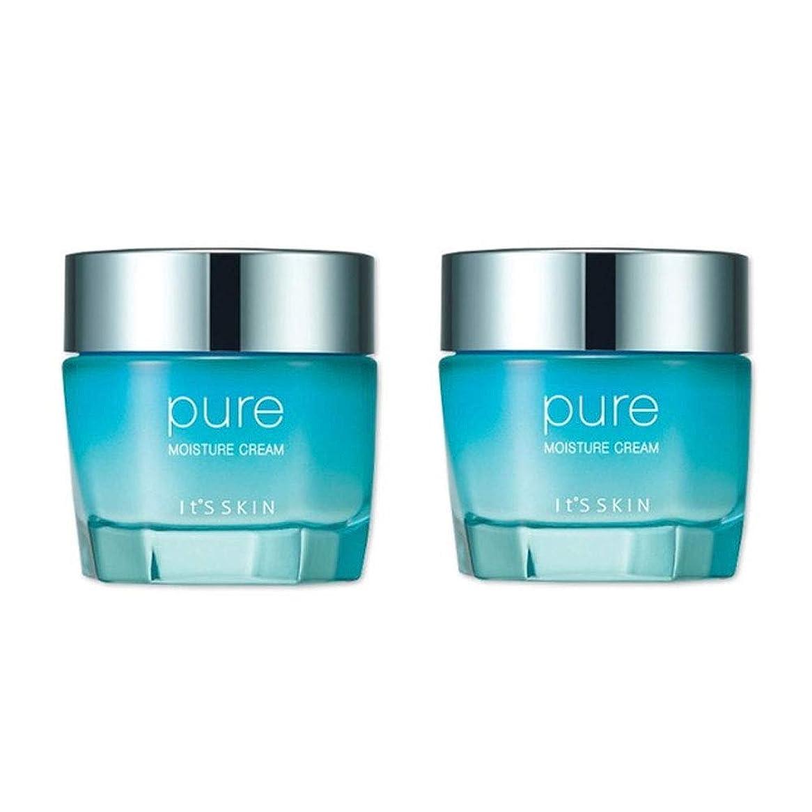見習い更新する検出イッツスキンの純粋な水分クリーム100mlx 2本セット、It's Skin Pure Moisture Cream 100mlx 2ea Set [並行輸入品]