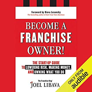 Become a Franchise Owner! audiobook cover art