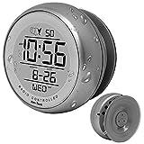 Ken-Tech Sonnet T-4660 Water Resistant Suction Cup Atomic Clock