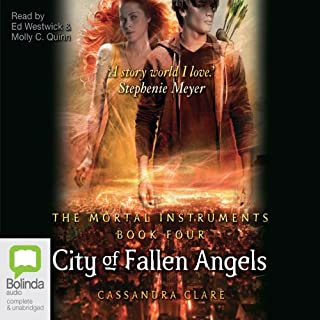 City of Fallen Angels audiobook cover art