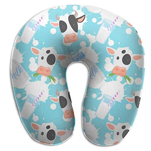Almohada en Forma de U, Cuello, Lindo ratón para bebé, Viaje, Almohada Multifuncional, Coche, avión