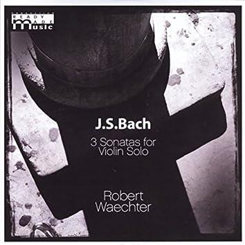 J.S.Bach 3 Sonatas for Violin Solo