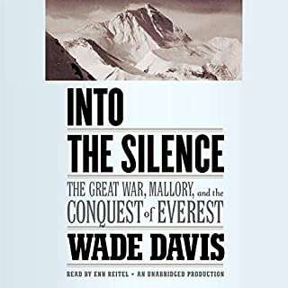 Into the Silence audiobook cover art