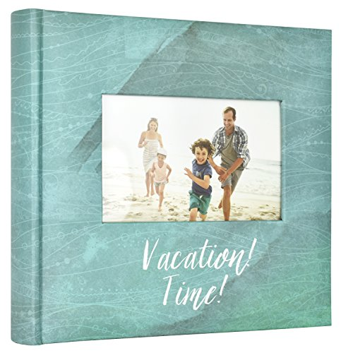 MCS 860160 Vacation Time Travel Photo Album, 8.5 x 8.5, Blue |