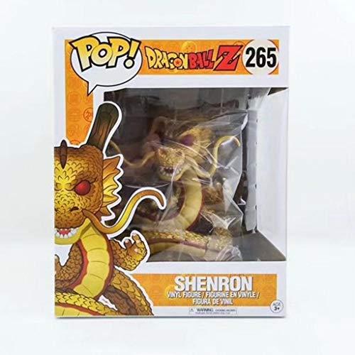 ZRY Dragon Ball Z - Shenron (Color Oro): Pop!Popular y Precioso PVC Figura de Dibujos Animados con la decoración de la Mejor colección for el tamaño de los Fans del Anime: 15 cm