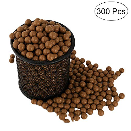 TOPRADE Professional Slingshot Ammo About (9mm) Hard Clay Ball, Environmentally Friendly. (ONE)